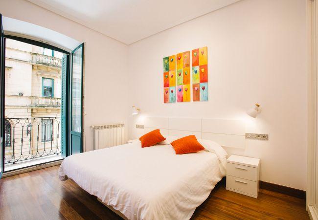 Apartamento en San Sebastián - B Bella Easo A in San Marcial 28