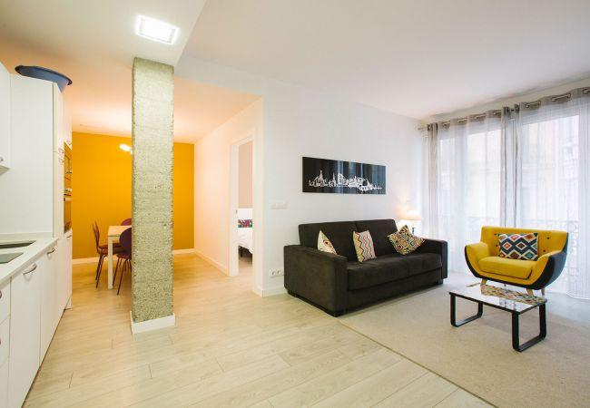 Apartamento en San Sebastián - 6 Getaria B superb central apartment
